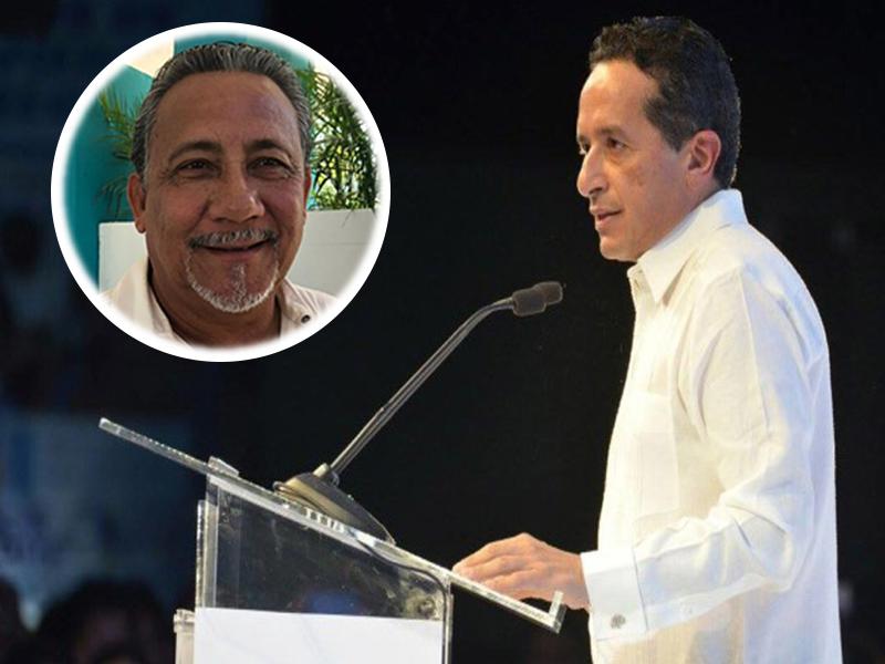 Nombra Carlos Joaquín a Arturo Contreras Castillo como nuevo secretario de gobierno