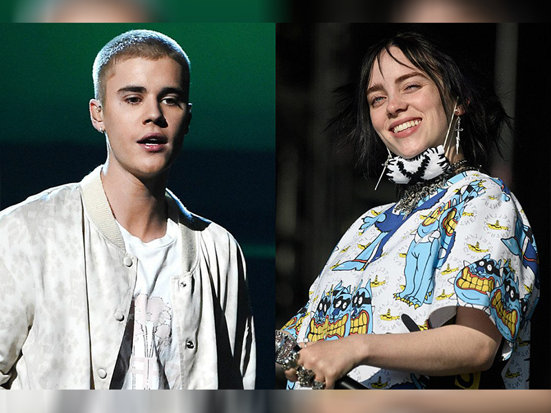 "Justin Bieber y Billie Eilish lanzan remix de ""Bad Guy"""