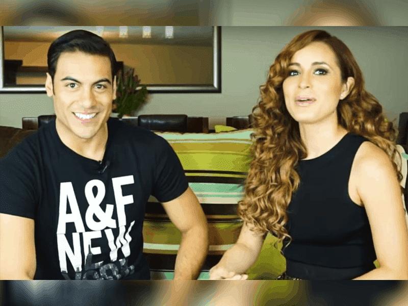 Aseguran que Carlos Rivera y Cynthia Rodríguez se casaron