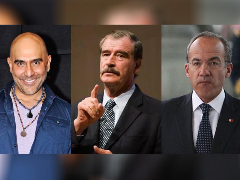 Hijo de Héctor Suárez ataca a ex presidentes de México