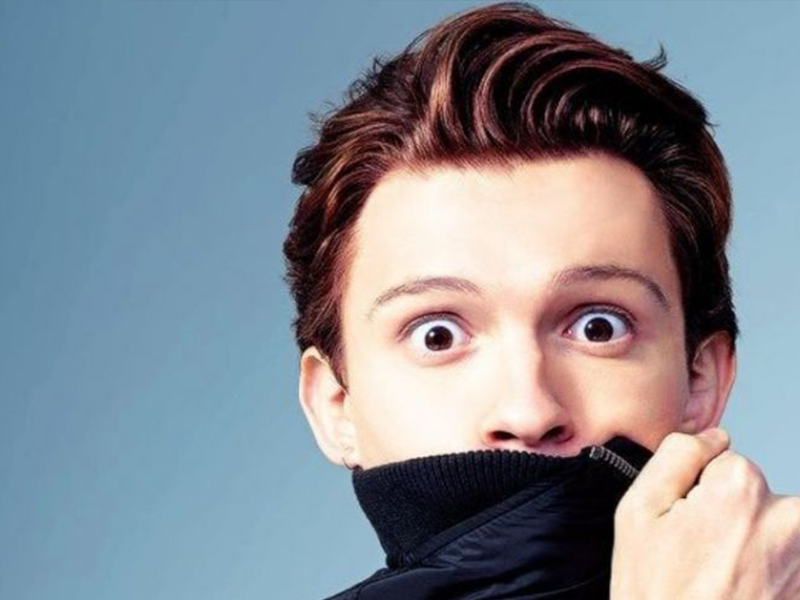 "El falso ""pack"" de Tom Holland"