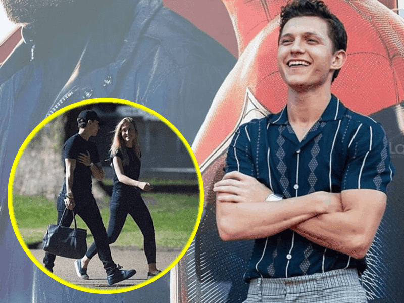 Tom Holland es captado con su supuesta novia