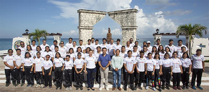 Rompe récord Cozumel con medallas en la Olimpiada Nacional
