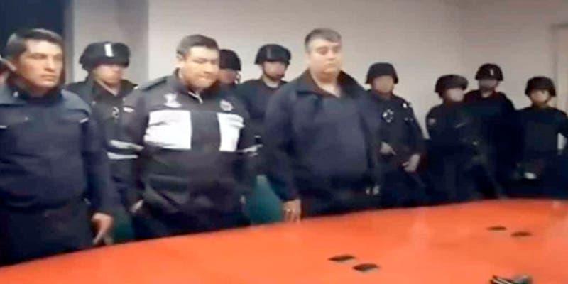 Policías extorsionadores son retirados de su placa (vídeo)