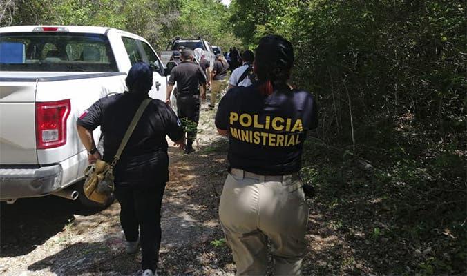 Encuentran cadáver de una mujer cerca del fraccionamiento Kusamil