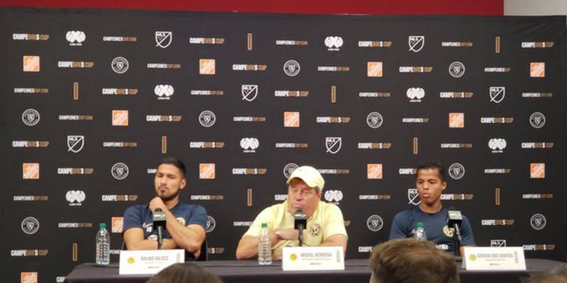 Campeones Cup: América confirma alineación contra Atlanta United