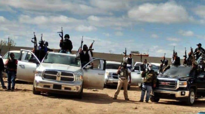 """El grupo de """"Los Mexicles"""", que de asaltantes se convirtieron en sicarios al servicio de Guzmán Loera."""