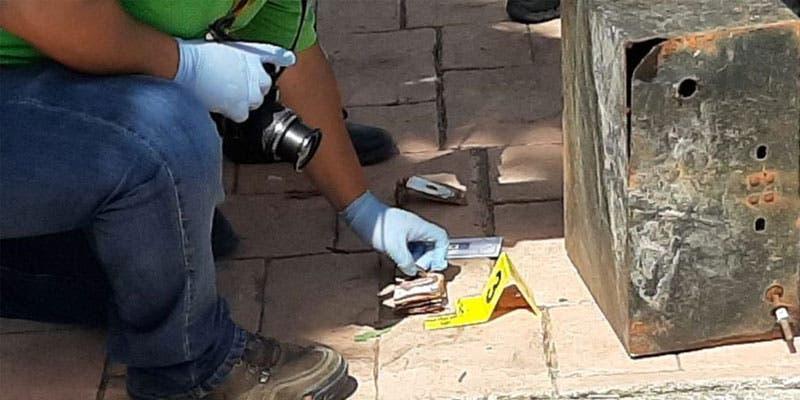 Hallan en la sabana de Chetumal dos cajas fuertes; al parecer son las que fueron sustraídas el año pasado en una empresa periodística de la capital.