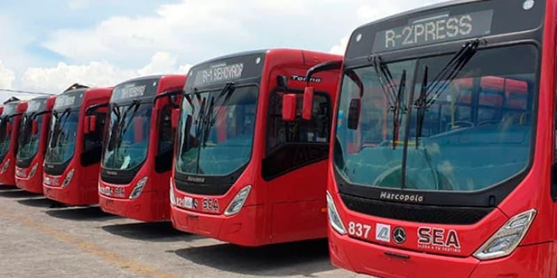 43 camiones nuevos de transporte público en Cancún podrían ser retirados
