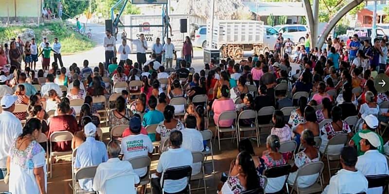 Caravana de la Constitución busca duplicar metas de servicios y entregas de casas: Luis Alegre