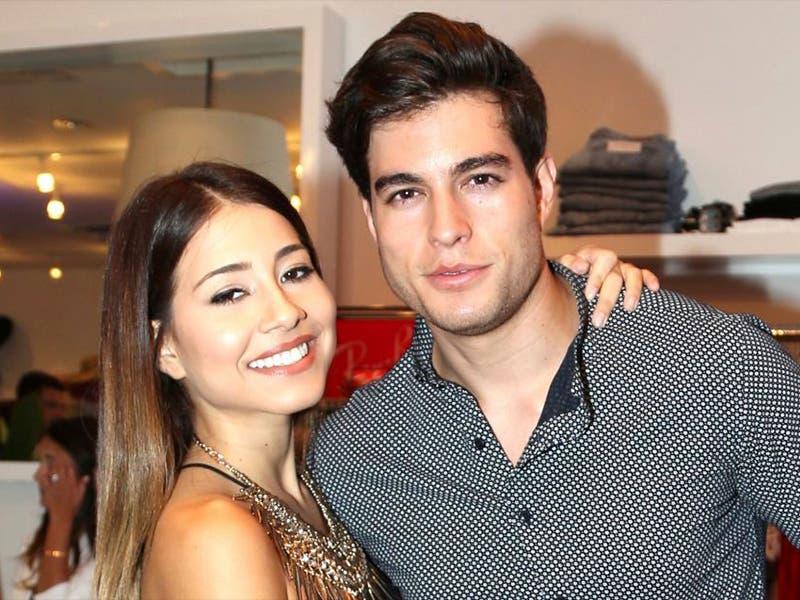 Danilo Carrera habla de la foto de su ex celebrando divorcio
