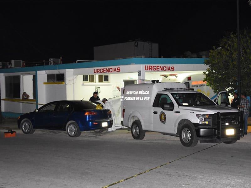 Registra Felipe Carrillo Puerto otra ejecución; reportes indican que una persona herida fue trasladada al Hospital General, a bordo de un auto particular.