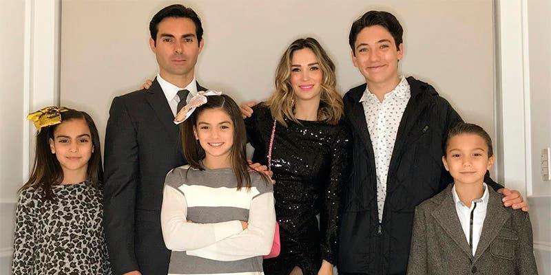 Ernesto D'Alessio dio su apellido al hijo de su esposa