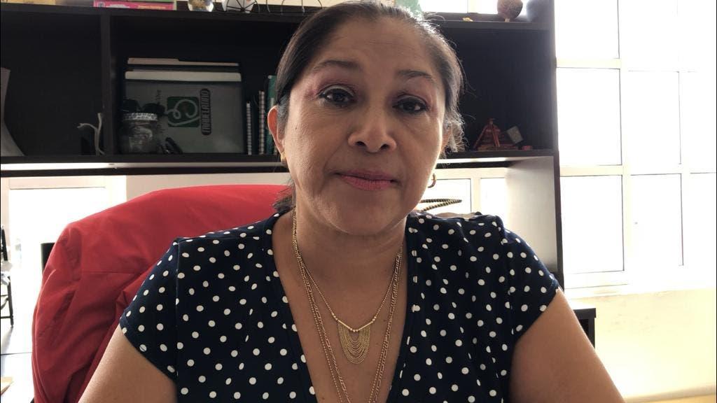 Encargada de los Servicios Educativos en Solidaridad de la Secretaría de Educación de Quintana Roo, la doctora Narcisa Pech