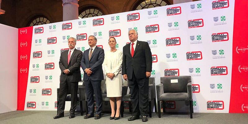 ¡Confirmado! Fórmula 1 se queda en México hasta el 2022