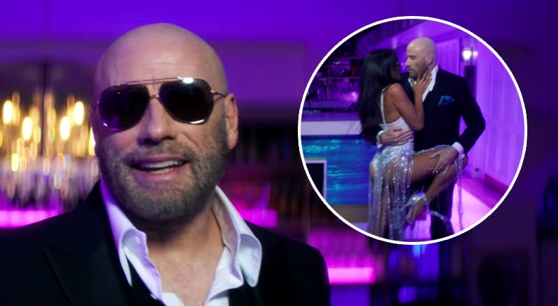 John Travolta causa furor con el nuevo video de Pitbull
