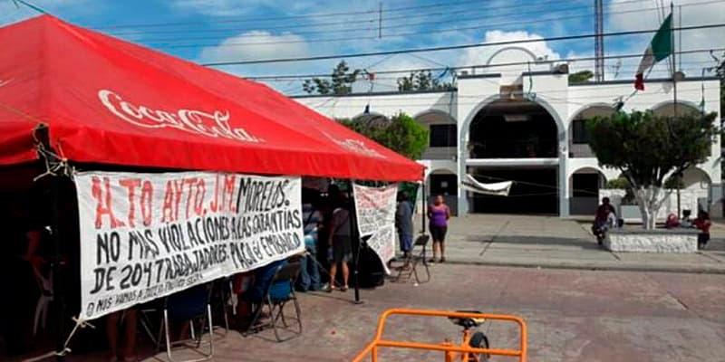 Logran solventar primera quincena adeudada a empleados de José Maria
