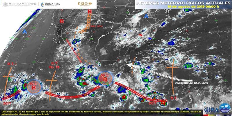 Clima: Se esperan lluvias para hoy en Quintana Roo.