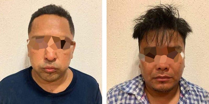 Detienen a dos extorsionadores en Playa del Carmen.