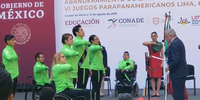 Lima 2019: Parapanamericanos con mismo apoyo para mexicanos