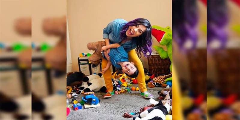 Lizbeth Rodríguez presenta a su hijo y revela por qué lo escondió