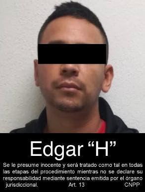 """Edgar Herrera Pardo """"El Cabo 8""""."""
