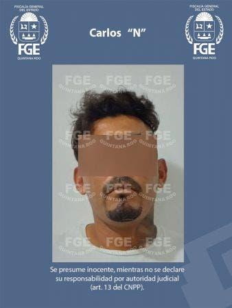 """Vinculan a sujeto acusado de doble homicidio en Bacalar; juez dicta prisión preventiva oficiosa en contra de Carlos """"N"""", quien participó en ejecuciones."""