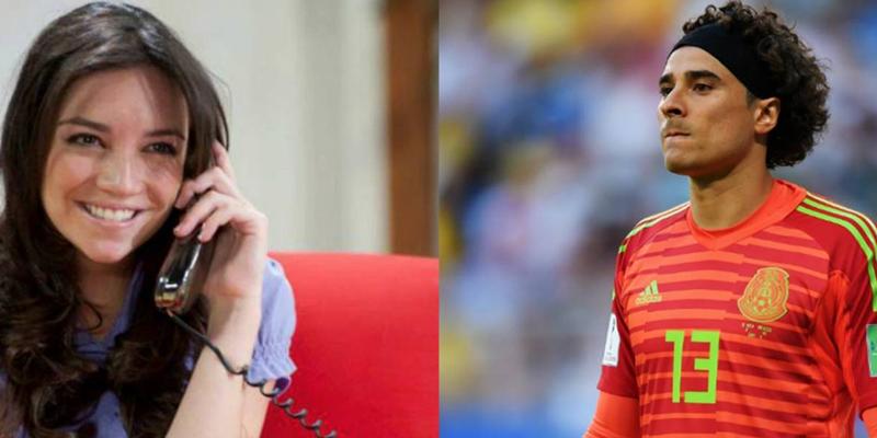 Tras 'batear' a Guillermo Ochoa, Regina Blandón responde