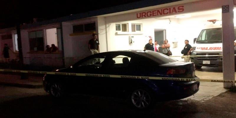 Sujeto muere antes de llegar al hospital en Felipe Carrillo