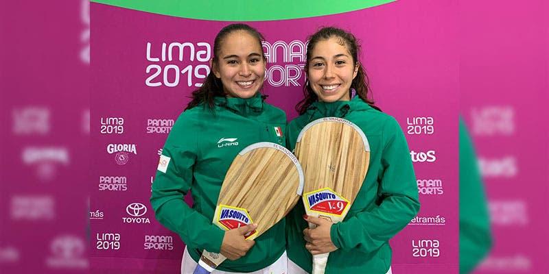 Lima 2019: Oro para México en Pelota de goma Dobles Frontón Femenil