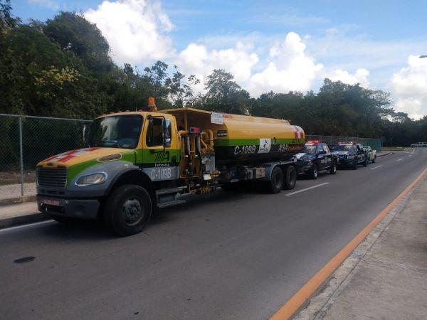 Aseguran en Cancún 17 mil litros de Turbosina