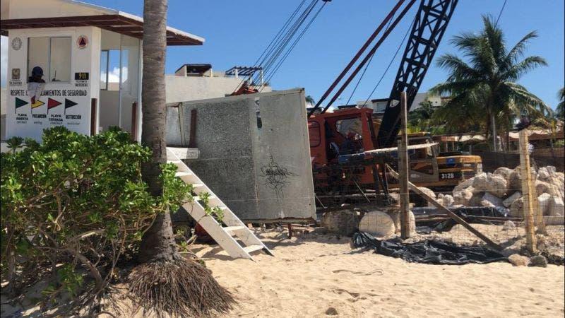 Dos metros los que se ha extendido de más el desarrollo de los departamentos It Beach