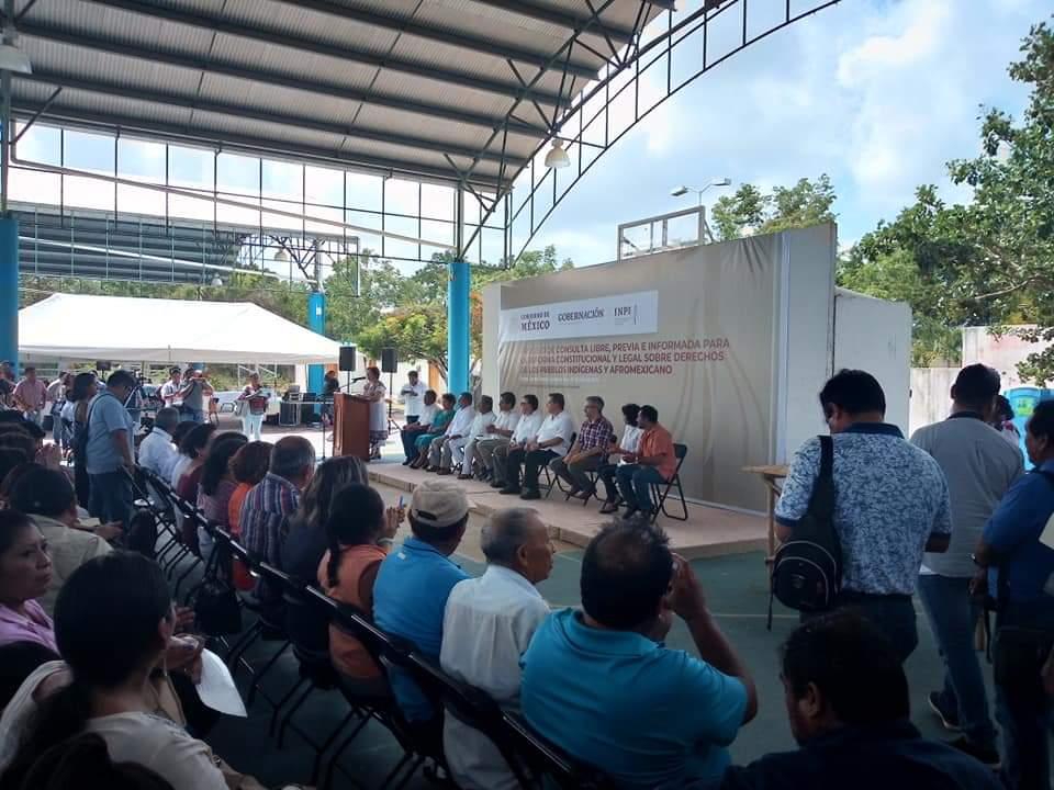Pueblo Maya viaja a la CDMX