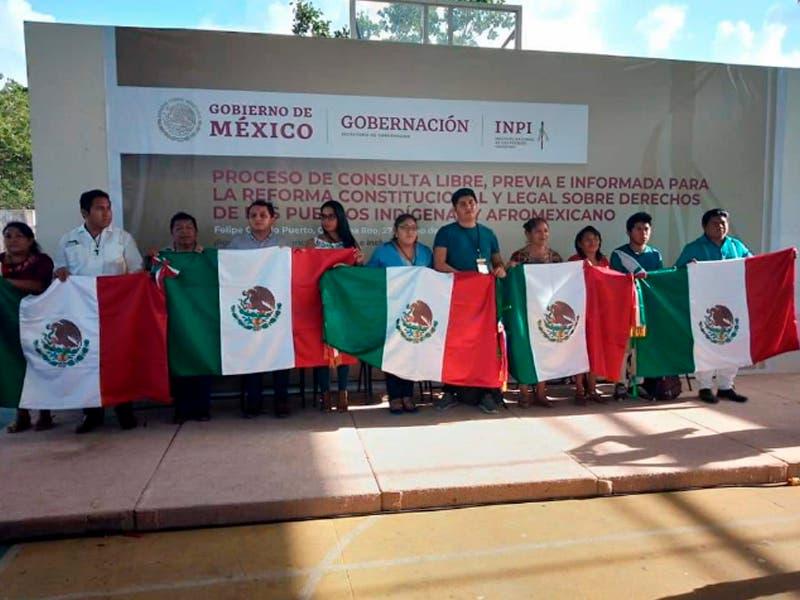 Pueblo Maya viaja a la CDMX al Foro Nacional de pueblos indígenas