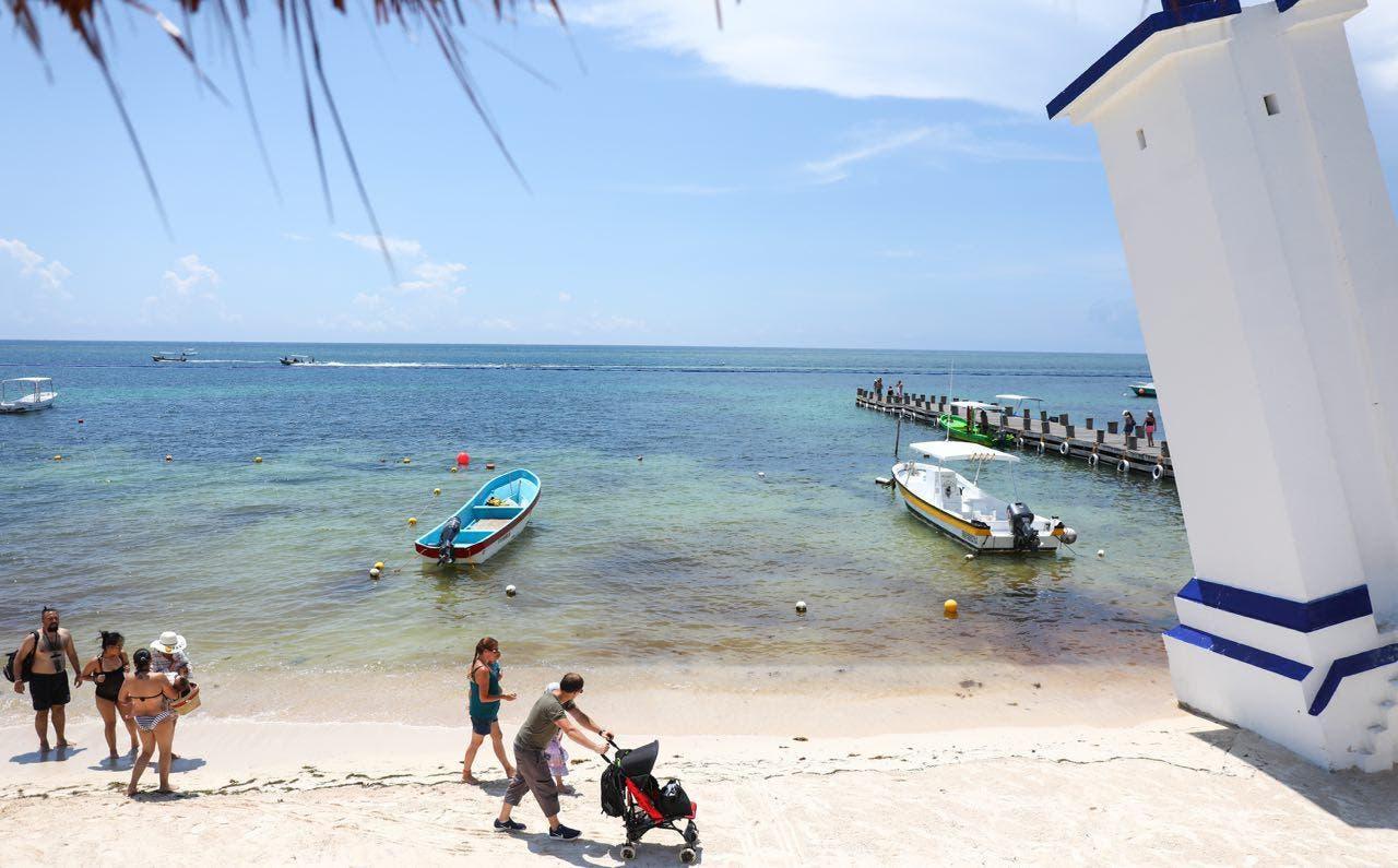 Ofrece el destino arenales libres de sargazo con el mar azul turquesa que lo caracteriza, indica la también presidenta de la Conamm