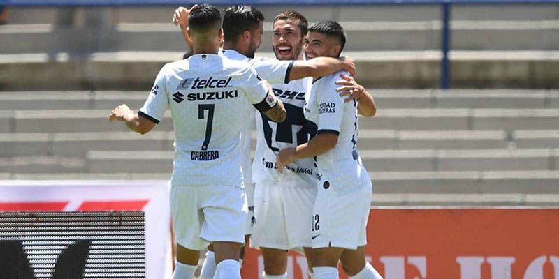 Liga MX: Pumas vence a Veracruz en la Jornada 5 Apertura 2019