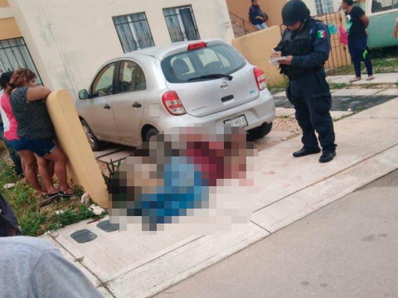 Sujeto detenido por robo usa a una niña como rehén en Cancún