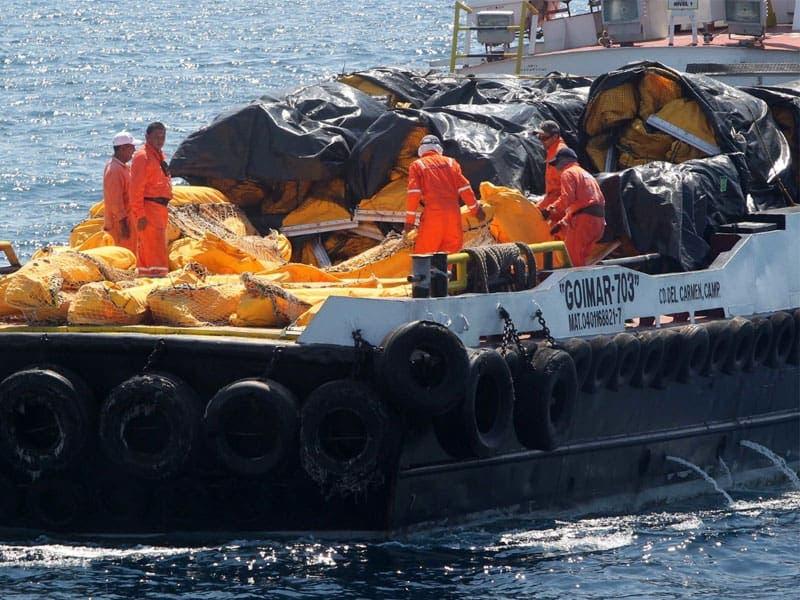 Recoleta la Marina 6 mil toneladas de sargazo en 3 meses; a las labores de limpieza de playas en Quintana Roo se han sumad un total de 13 mil 527 personas.