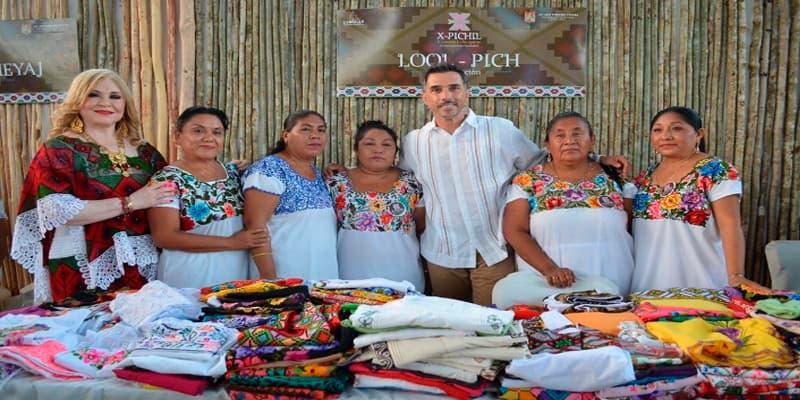 Los bordados de mujeres mayas deben registrarse las patentes: Sergio Mayer