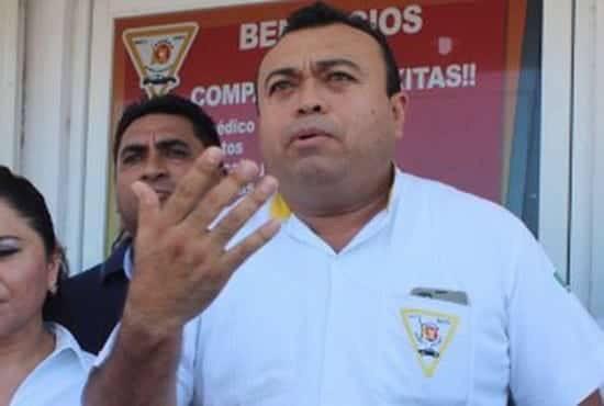 Dirigente del SUCHAA Sergio Cetina Valle
