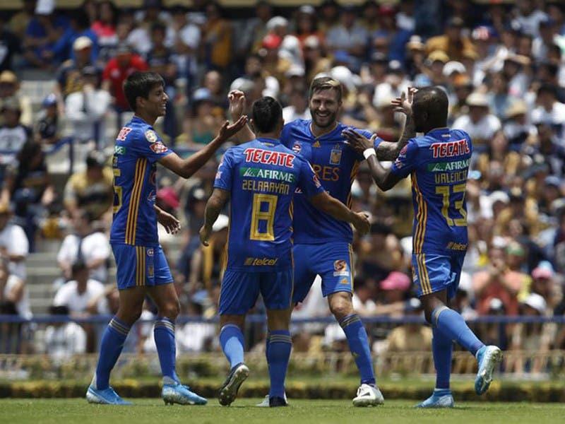 Liga MX: Tigres derrota a Pumas en la Jornada 3 del Apertura 2019