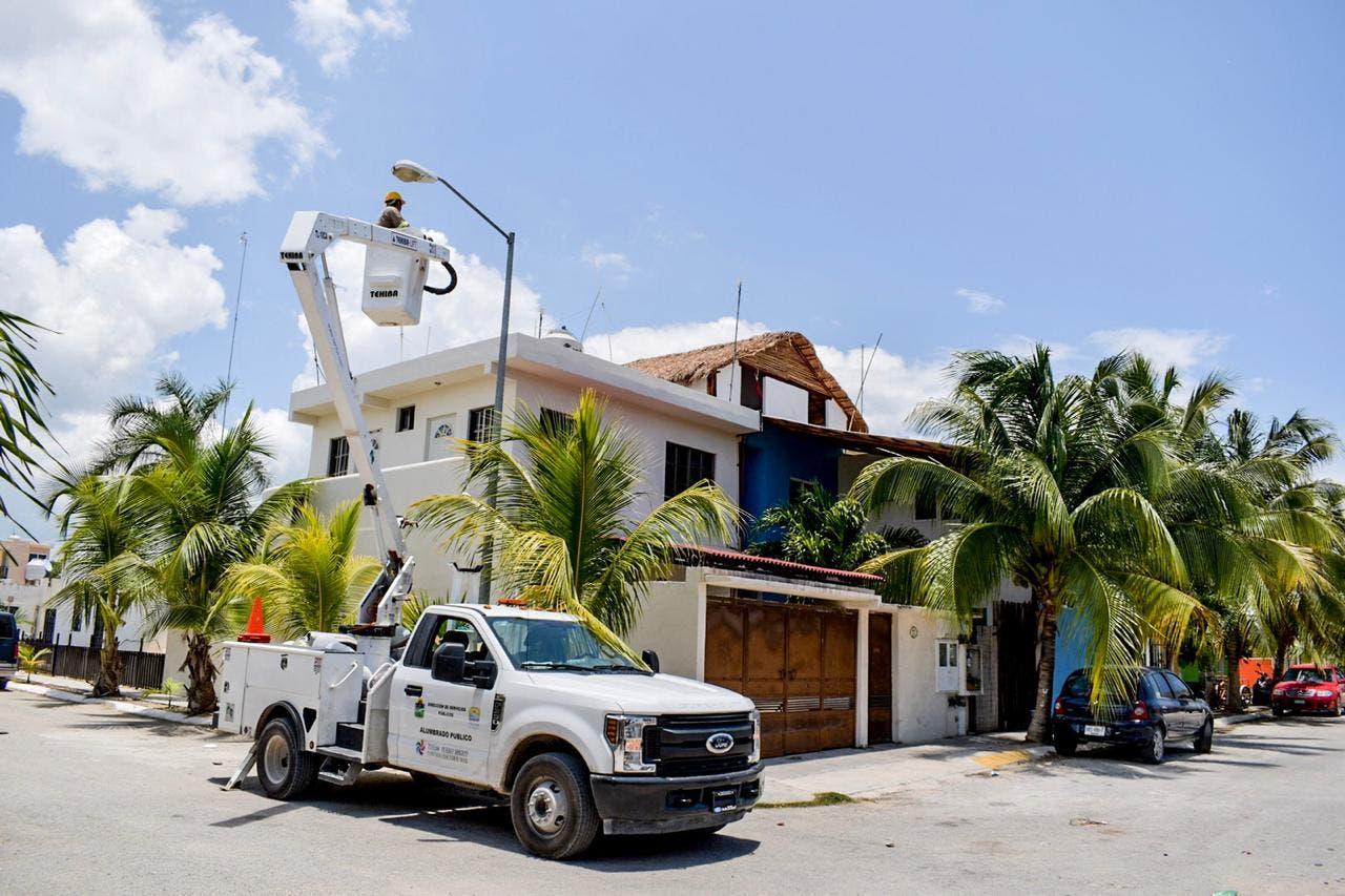 Cambio de luminarias mejora condiciones de seguridad e iluminación