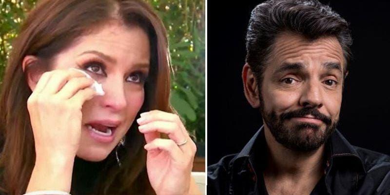 """Eugenio Derbez se """"pelea"""" con Alessandra Rosaldo en pleno programa en vivo"""