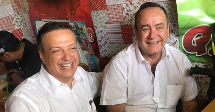 Sostiene Luis Alegre reunión privada con Alejandro Giammattei