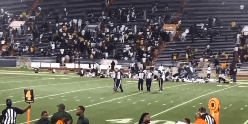 Video: Tiroteo en partido de futbol americano en Alabama deja al menos 10 heridos