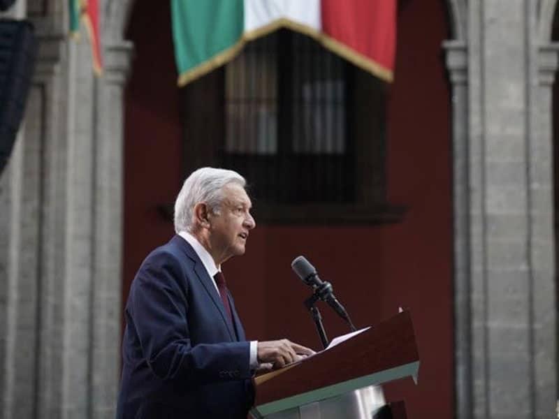 Dirige AMLO discurso por su Primer Informe de Gobierno; el presidente pidió al Congreso a concretar reformas para consultas populares y eliminar el fuero.