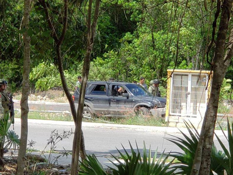 Atacan a balazos a policías en La Joya; muere uno, Esta maña se registró el atentado contra motopatrulleros por sujetos que viajabas en una camioneta.