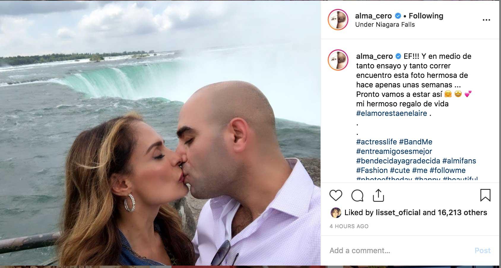 Alma Cero le restriega su nuevo amor a Edwin Luna