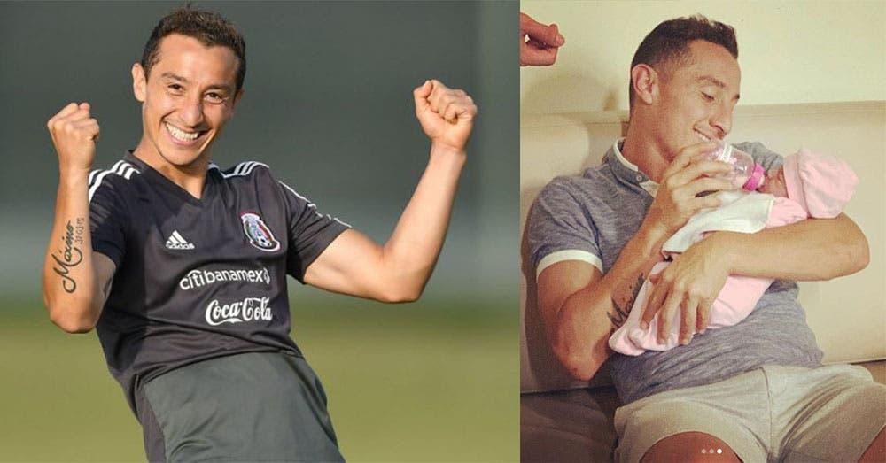 ¡Andrés Guardado ya es papá! Por eso no jugará hoy en México vs Argentina