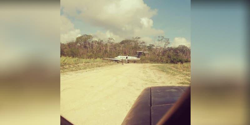 Aseguran avioneta en una pista clandestina en Othón P. Blanco
